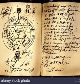 superstition-seal-double-page-handwritten-grimoire-with-hexagram-names-A3Y4AN